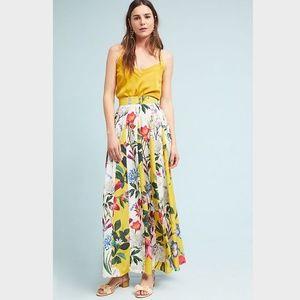 NWOT Anthropologie Aprile Floral Skirt